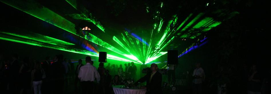 spectacol laser nunta