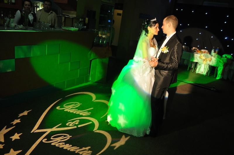 personalizare gobo nunta dj