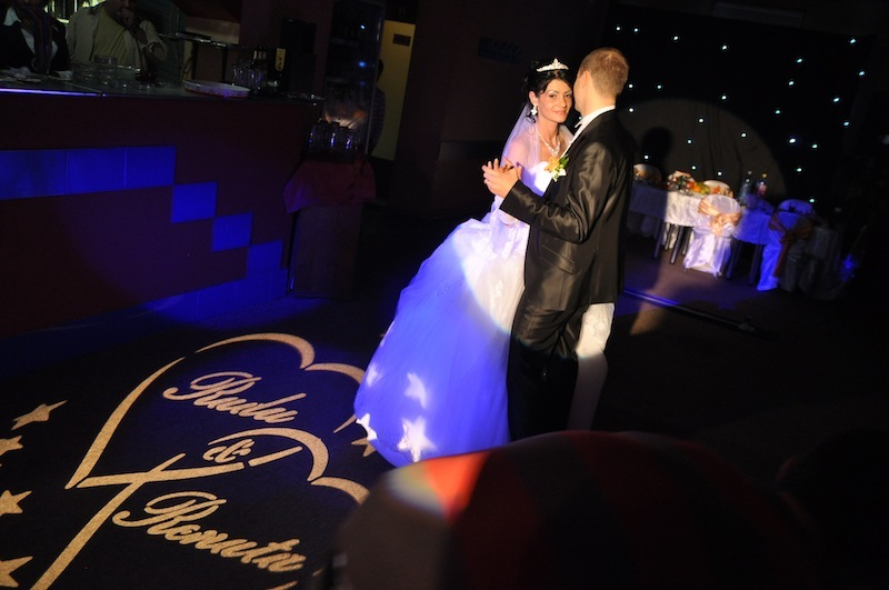 personalizare gobo nunta dj bucuresti