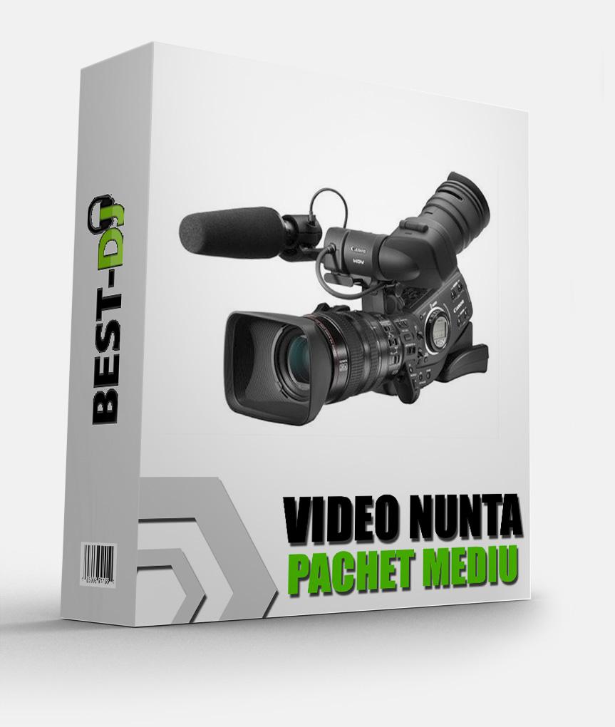 Pachet video nunta mediu